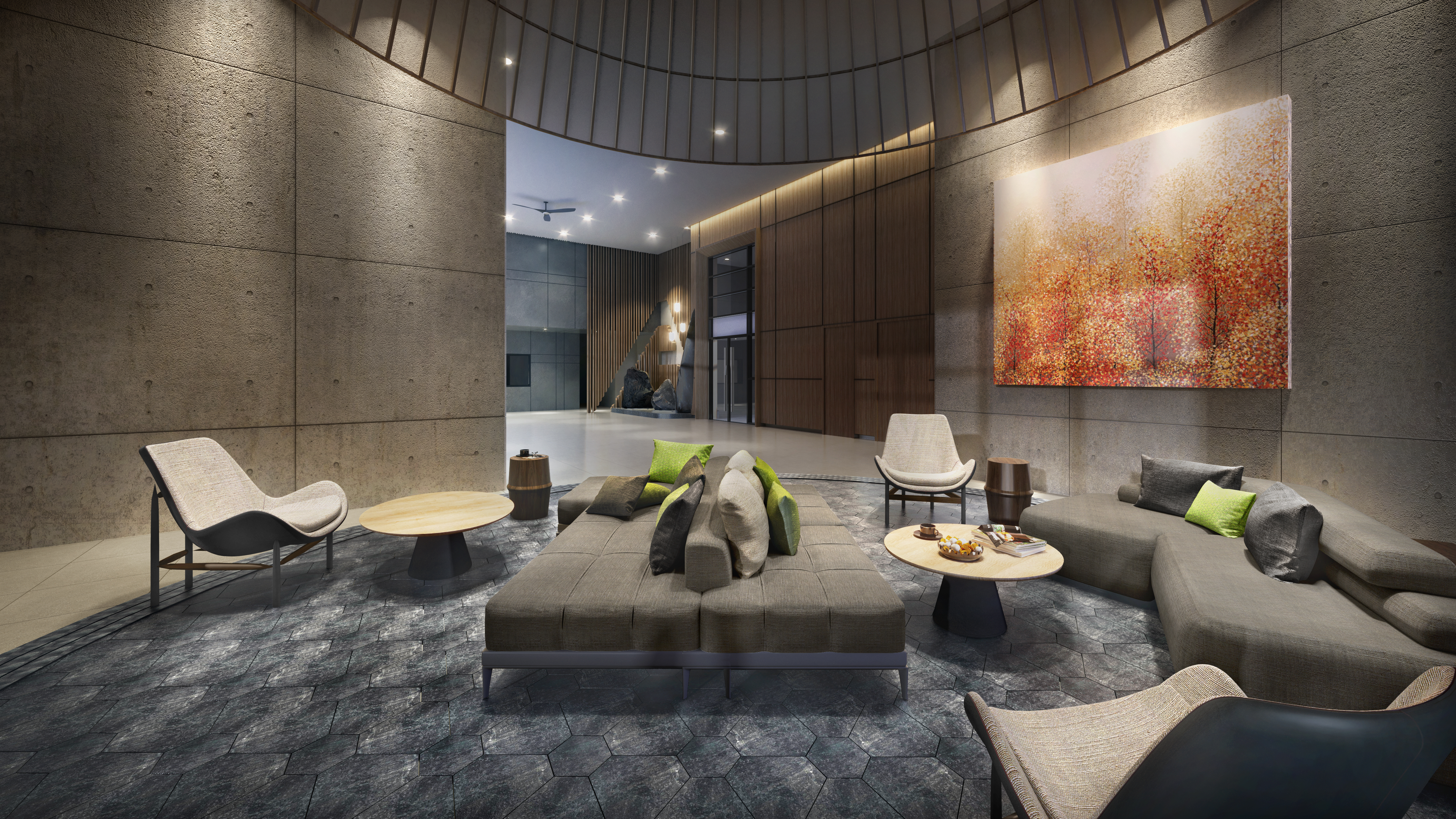 Lobby Lounge Tower A